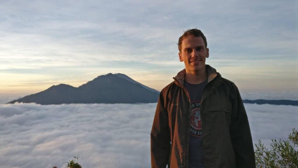Ambroise Debret Mont Batur