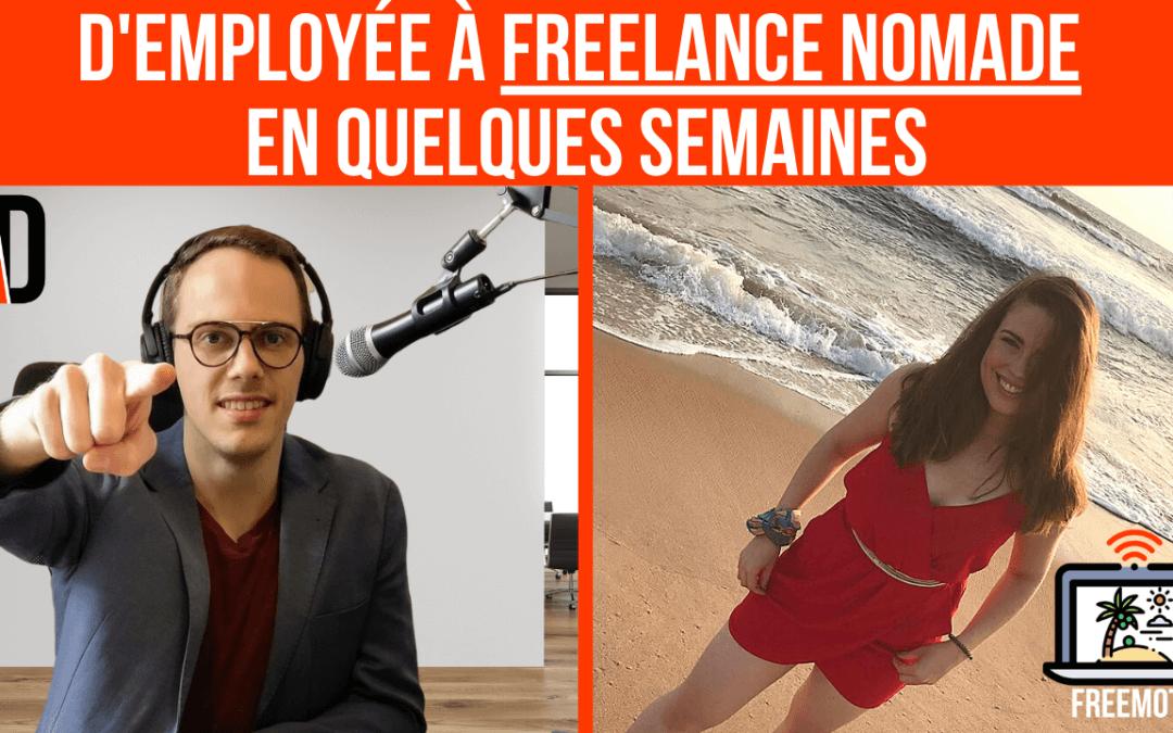 D'employée À Freelance Nomade en Quelques Semaines Avec Lauriane Abadie