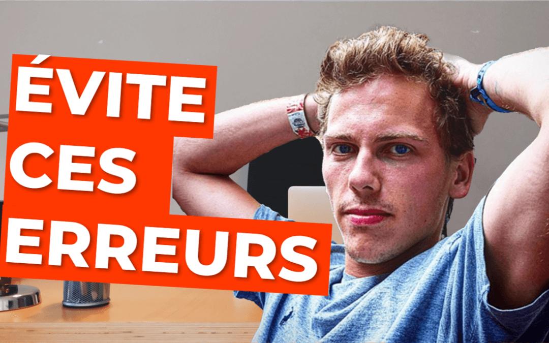 Mes 7 Pires Erreurs Freelance (Et Comment Tu Peux Les éviter)