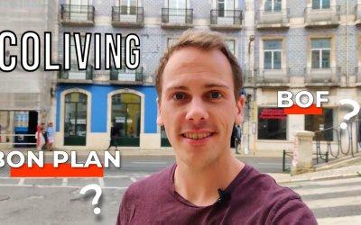 Coliving au Outsite Lisbon (Cais do Sodré) : mon bilan après 1 mois